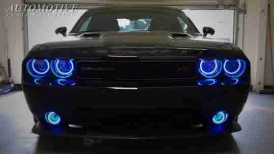 2017 Dodge Challenger Dual Ring Halo