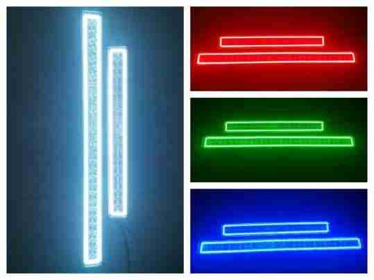 Acl 40 42 rgb light bar halo smd bright series automotive rgb light bar halo smd bright series aloadofball Images