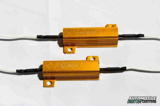 Pair 50W 6Ohm Load Resistors