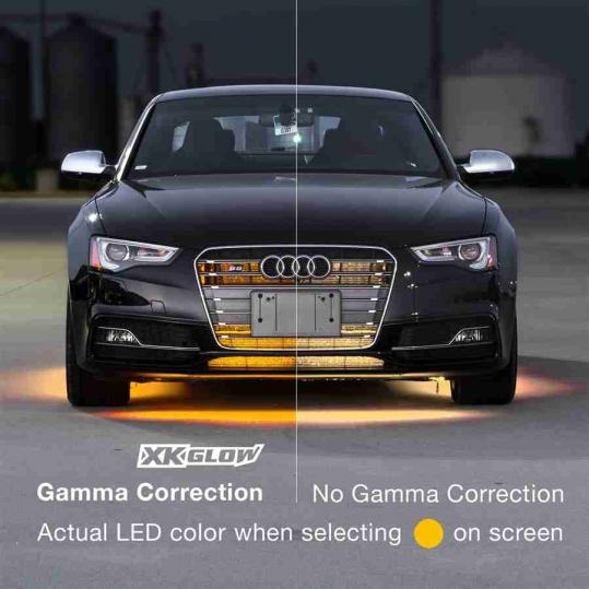 XKchrome App Controlled Car Truck Underglow Undercar LED Accent Light Kit