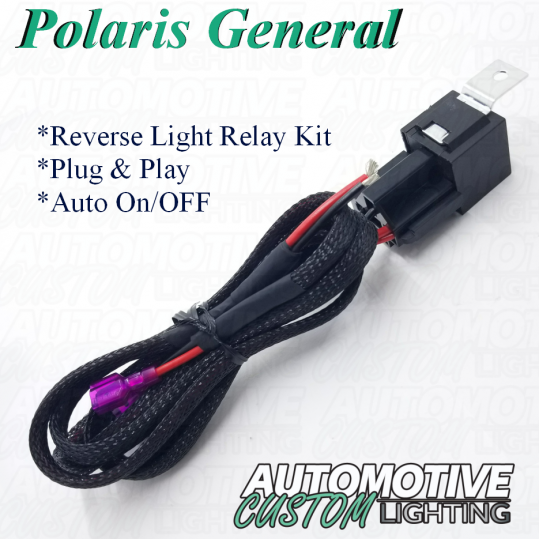 Polaris General Wiring Harness - Wiring Diagram Set