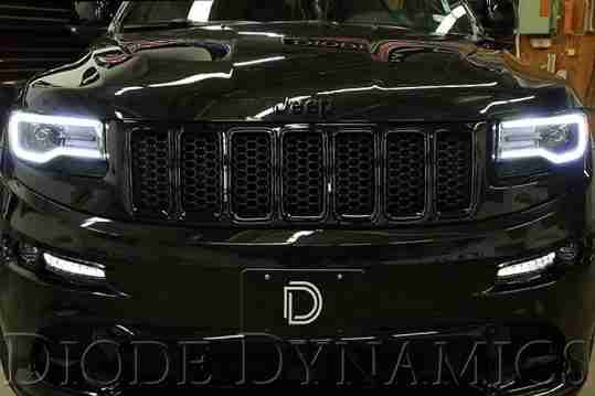Jeep Grand Cherokee Halo Headlights