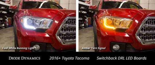 2016-2019 Toyota Tacoma Switchback DRL LED Boards
