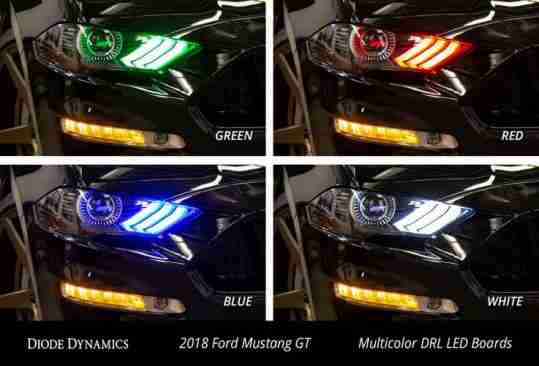 18_mustang_multicolor_drl_led_boards_collage