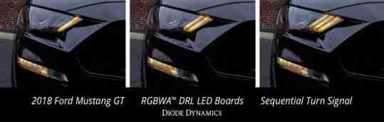 18_mustang_sequential_drl_led_boards_collage