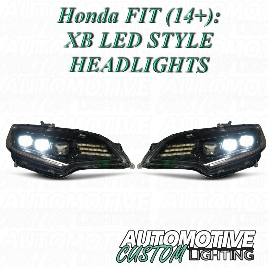 Honda Fit 14 Xb Led Headlights Automotive Custom