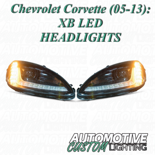 CHEVROLET CORVETTE (05-13): MORIMOTO XB LED HEADLIGHTS - Automotive