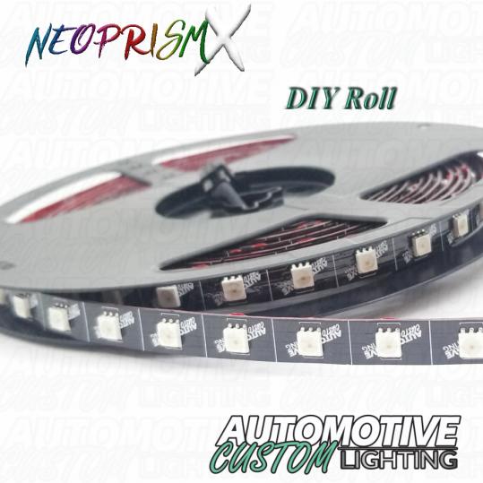 NeoPrismX 12V Custom LED Strips - Automotive Custom Lighting