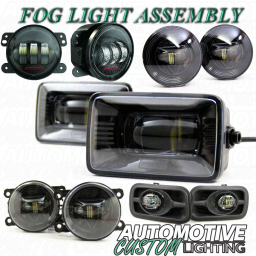 LED Fog Light Assembly
