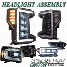 LED Headlight Assembly (Application Specific)