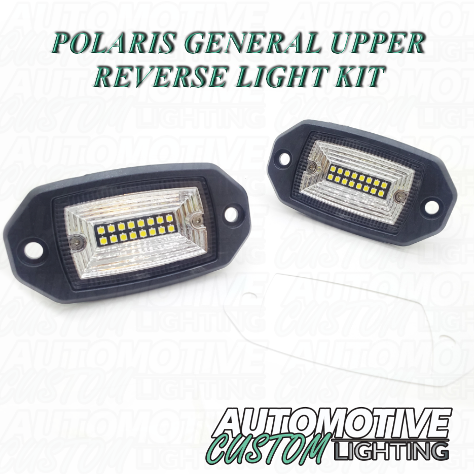 Polaris General Upper Reverse Light And Harness Not Full