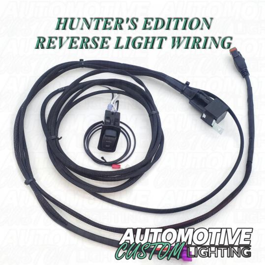 Hunters Edition Polaris Ranger Reverse Light Wiring   W L